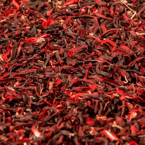Red Hibiscus Sifting
